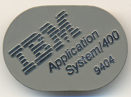 IBM AS/400 front badge model 9404