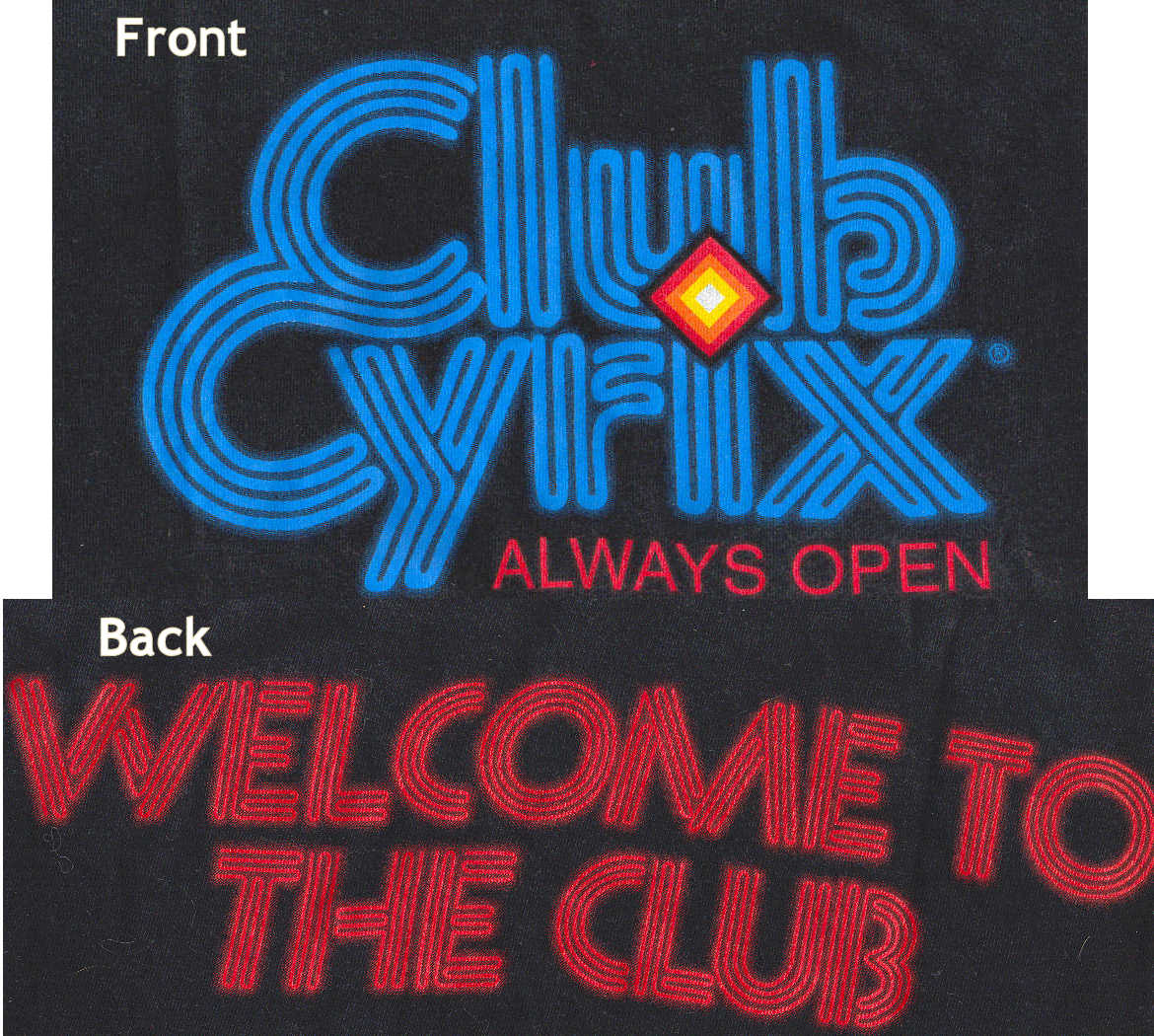 Cyrix T-shirt 'Club Cyrix'