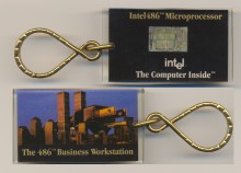 Intel keychain 486 'Business workstation'