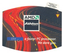 "AMD mousepad ""Athlon processor"""