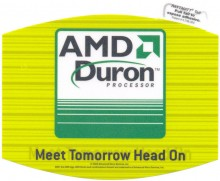 "AMD mousepad ""Duron Meet Tomorrow..."""