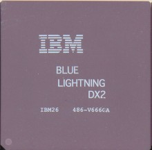 IBM 'Blue lightning' DX2-66