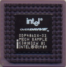 Intel ODP486DX-33 'Mech sample'