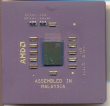 AMD Athlon Mechanical Sample