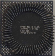 Intel BP80503233 SL293